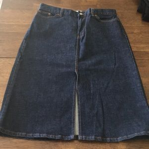 Gap Classic Jean Skirt - Size 10